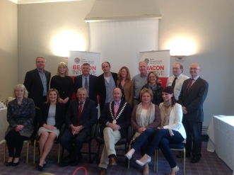 Kinsale Retailers complete the Beacon Retail Programme, pictured here with Cllr. Alan Coleman, Mayor of Cork County Council