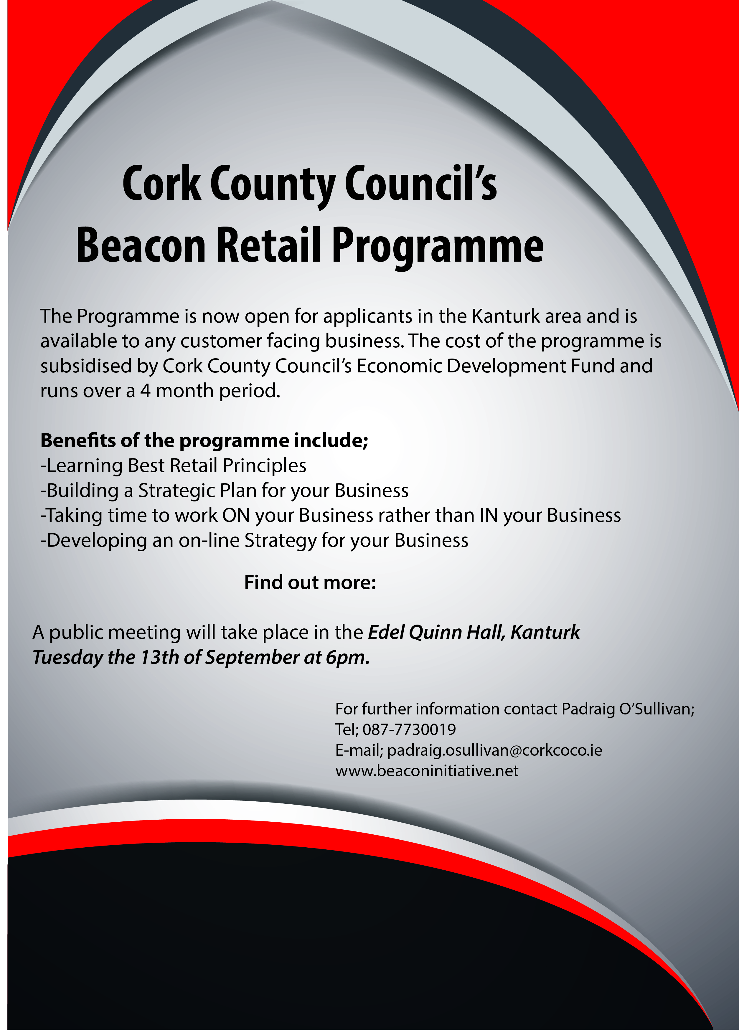 beacon initiative supporting business in county cork beacon flyer kanturk